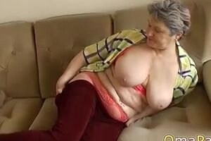 OmaPasS Homemade clips of Well Aged Old Moms